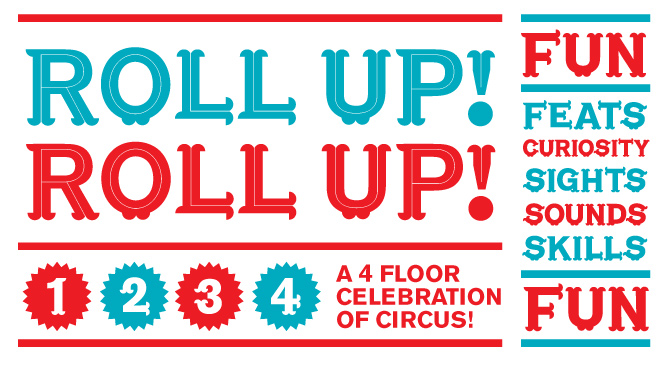 Roll Up! Roll Up! A Celebration of Circus