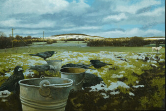 Winter Feed by Martin Gale