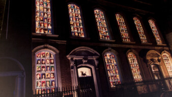The original Faces In The Window in 1995 displayed