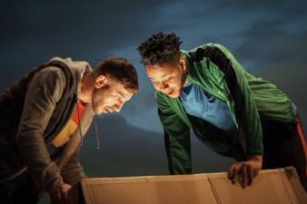 Curtis-Lee Ashqar & Kwaku Fortune in Peat by Kate Heffernan, 2019