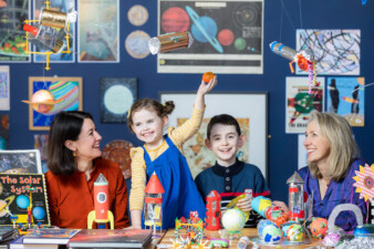 The Ark celebrates 25 Years with support from BDO, sponsors of our 25th birthday season, at our Fly Me To The Moon visual art programme, 2020