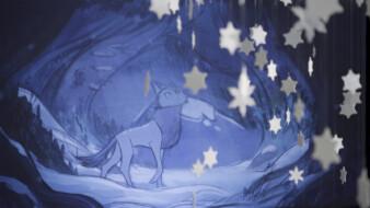 Wolfwalkers in Winter by Cartoon Saloon & Liselott Olofsson