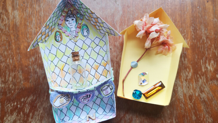 Cabinets of Precious Things: Online Visual Art Workshop