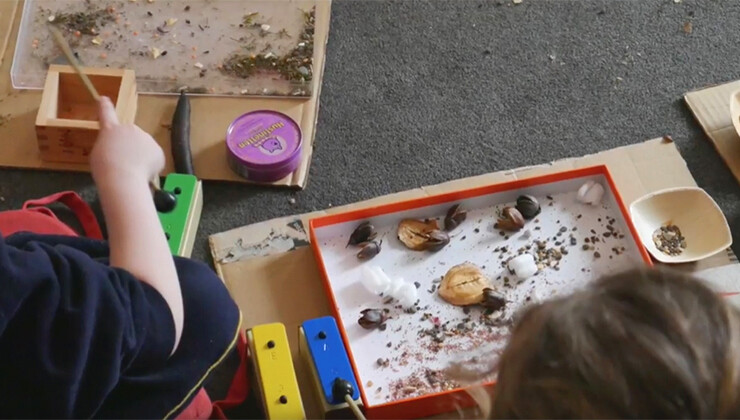 Natural Creators of Magical Sounds: Online Early Years Workshops