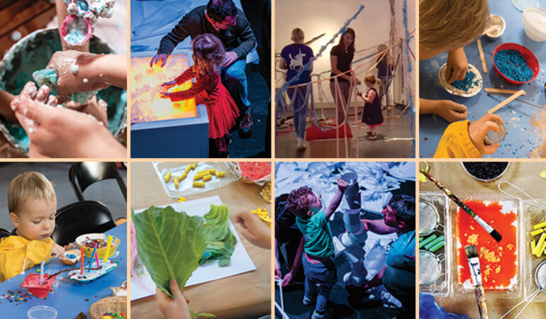 Grown Up Talk: A Year of Early Years Visual Art