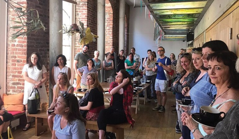 Artists Coffee Morning At The Ark June 2018