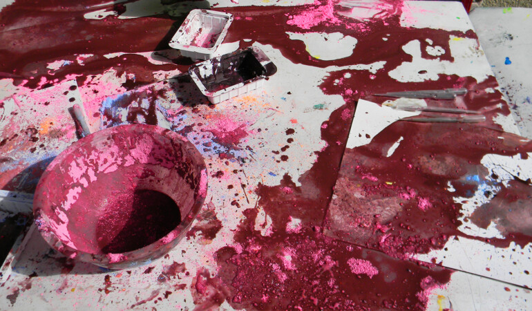 Paint STUFF: Online Visual Art Workshop