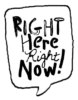 Right Here Right Now Logo